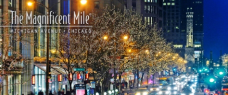 Magnificent Mile Chicago Christmas Shopping – 15 Dec 2012