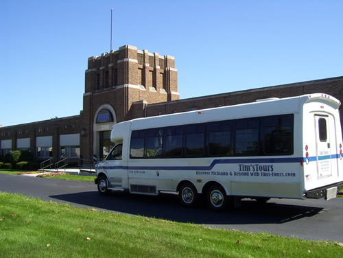 South Bend Chocolate Factory - Tims Tours Bus